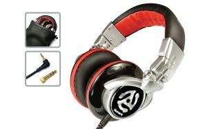 Red Wave DJ Headphones By Numark